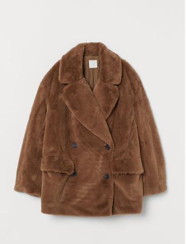 Γούνινο jacket HM