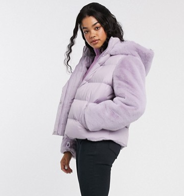 Puffer jacket Asos