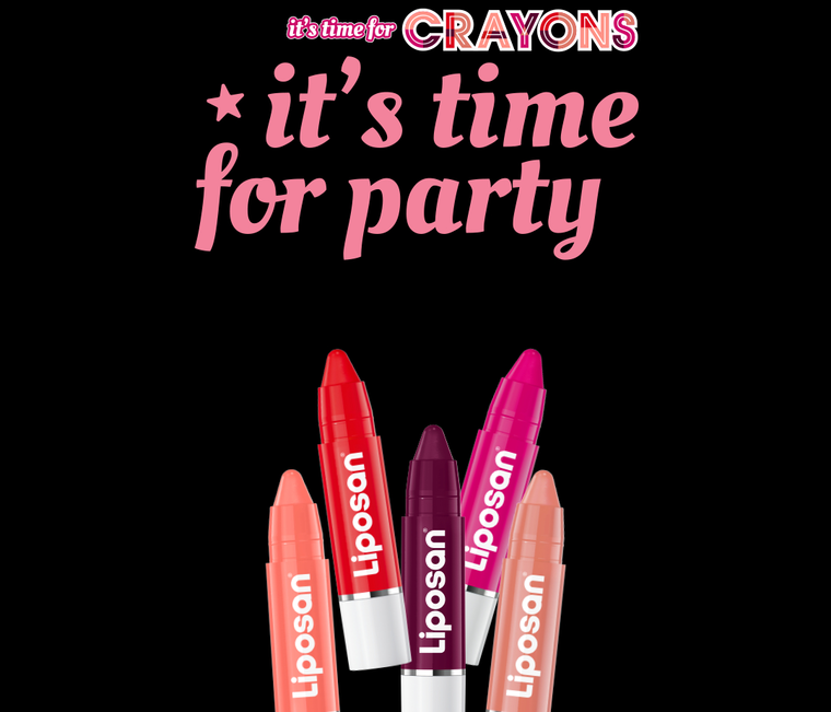 It's time for Color, it's time for Crayons, It's time for Party!